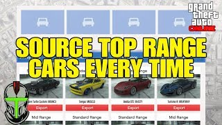 GTA Online: How To Source TOP RANGE Cars EVERY TIME!!! (Import/Export) 2020
