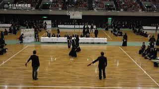TOCHIGI vs YAMAGUCHI 67th All Japan Interprefecture KENDO Championship 2019 1st Round