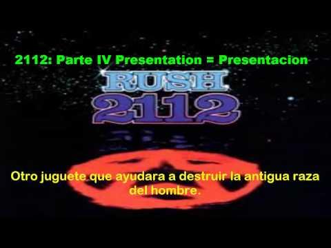 Rush  2112  Subtitulos Español