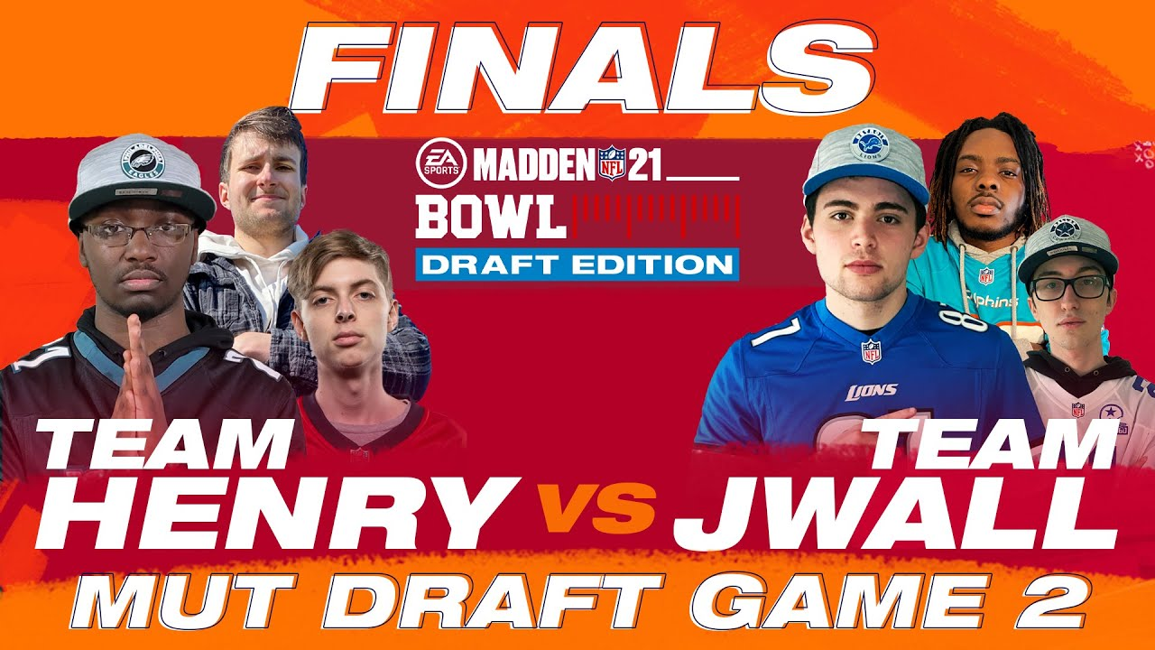 THE Madden Bowl 21 Champion is 👑 👑 👑  HERE 😳  | 2 of 2 MUT Draft | Madden Bowl Finals | Madden 21