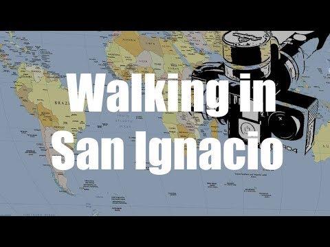 Walking in San Ignacio, Belize | GoPro 4 Silver | Virtual Trip