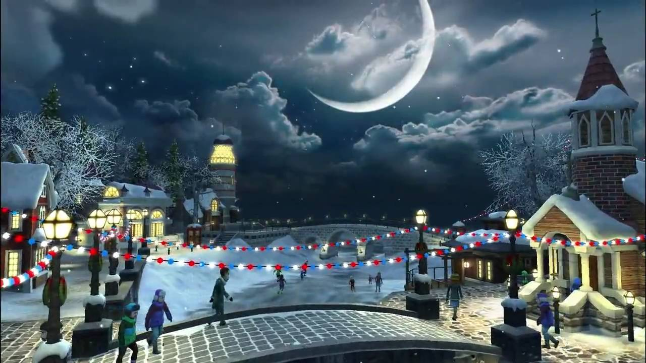 Falling Snow Live Wallpaper For Pc Snow Village 3d Live Wallpaper And Screensaver 1 0 Youtube
