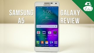 Samsung Galaxy A5 Review!(Samsung's packing its latest metallic design language and a 64 bit processor in the Galaxy A5. Check out our full review! Best A5 cases: ..., 2015-01-20T03:17:14.000Z)