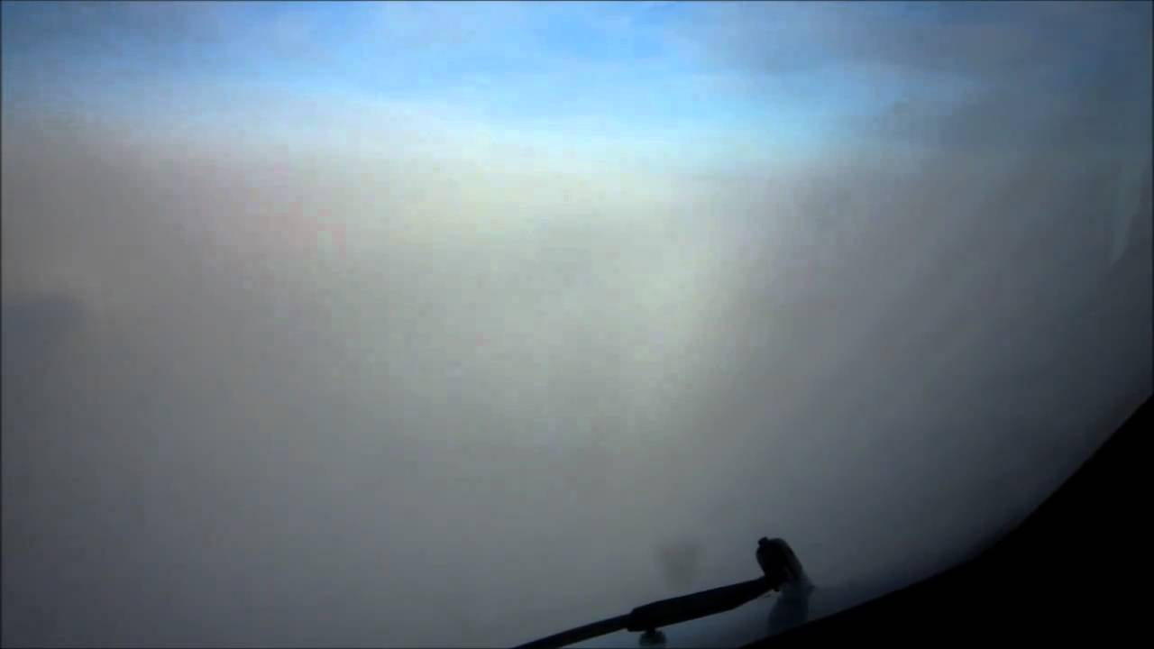 Low Visibility Cat 3 landing ENGM. Boeing 757 - YouTube