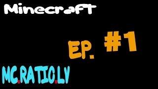 Pirmais video!!! Minecraft mc.ratio.lv serverī ep. #1