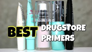 THE BEST DRUGSTORE PRIMERS!! (Top 5) | Drugstore Series