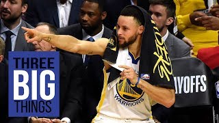 3 Big Things: Warriors take control and the series is over