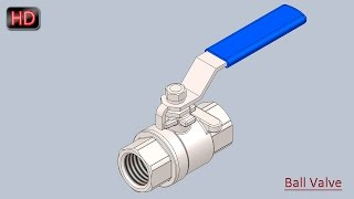 Ball Valve  SolidWorks Tutorial