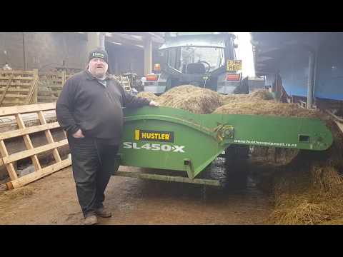 """""""This Hustler machine is one of the best cattle feeding equipment that I've owned for a long time"""""""