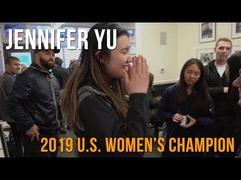 Jennifer Yu Wins 2019 U.S. Women's Chess Championship