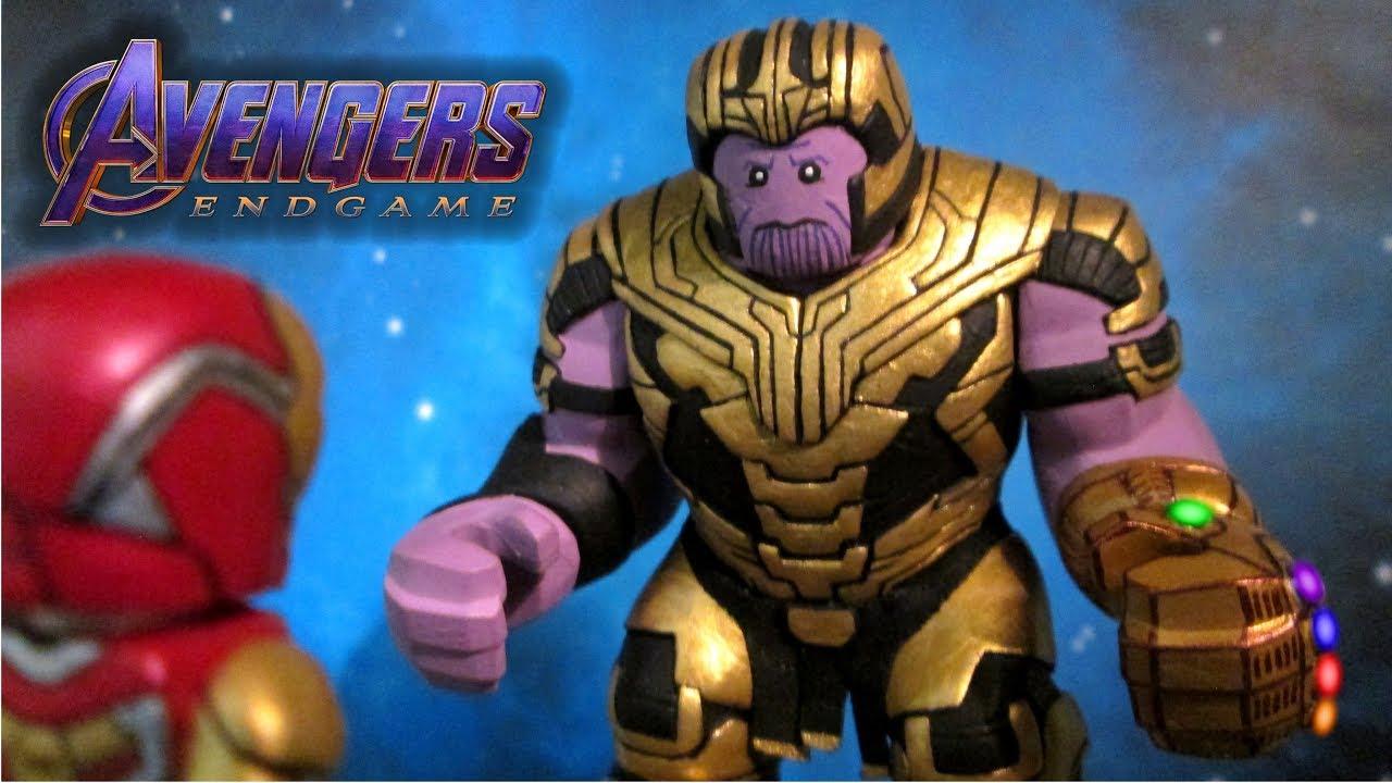 Custom Thanos Endgame Marvel Super heroes minifigures Avengers lego bricks