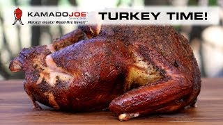 2013 Kamado Joe Smoked Turkey
