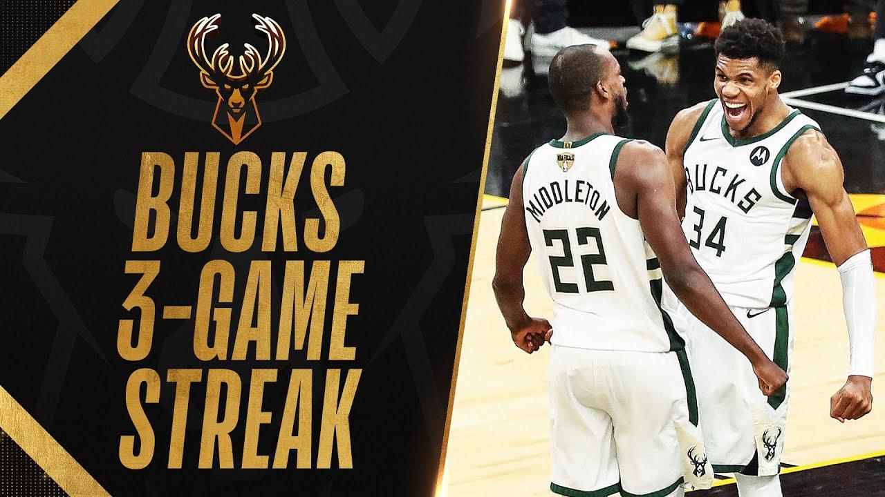 Best Of Bucks 3-Game Streak!🔥🦌