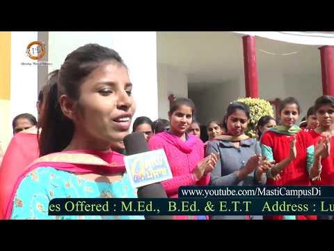 Masti Campus Di ll Lala Lajpat Rai Memorial College Of Education, dhudike ll Moga ll 2018