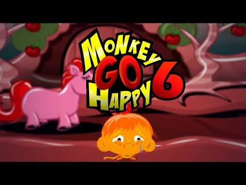 """Игра """"Счастливая Обезьянка 6"""" (Monkey GO Happy 6) - прохождение"""