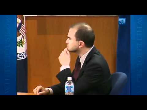 Twitter Interviews White House Ben Rhodes Deputy National Security Adviser Part 2