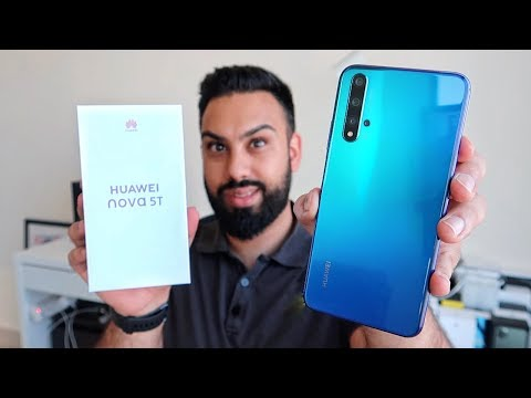 Huawei Nova 5T UNBOXING And FIRST LOOK