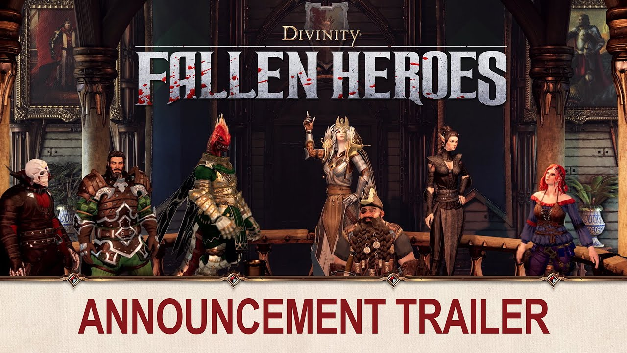 Divinity: Fallen Heroes is a new Divinity tactics game with