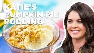 Katie Lee Makes Pumpkin Pie Pudding | Food Network