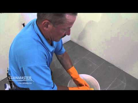 How To Install Stainmaster Stain Proof Grout Crystal Gl