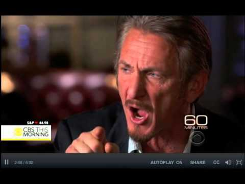 El Chapo Guzman Sean Penn talks about controversial secret interview with Mexican drug lord   CBS Ne