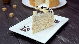 Как приготовить сметанный торт на сковороде - Рецепты от Со Вкусом