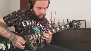 Trivium - The Wretchedness Inside [Lead Guitar Cover]