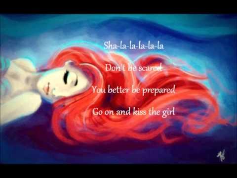 Kiss the Girl - Ashley Tisdale Lyrics