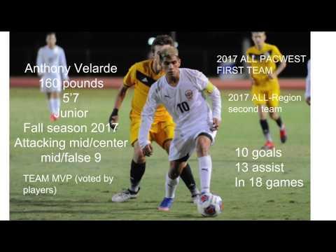 Anthony Velarde 2017 highlight video- skills & goals