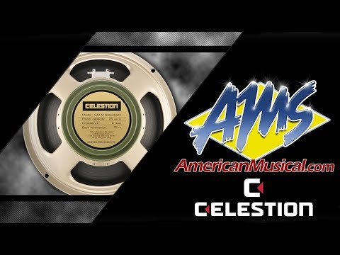 Celestion G12M Greenback - American Musical Supply
