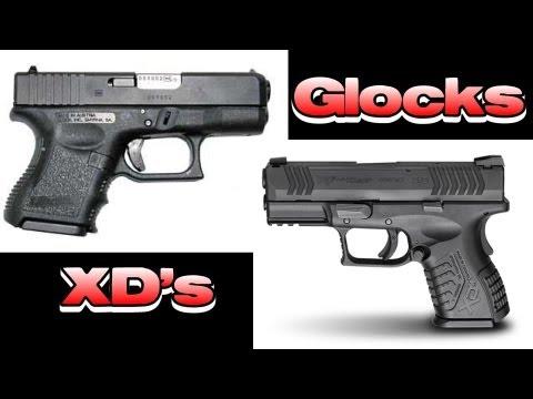 Glocks aren't Safe! - XD's are Better! (Safety & Training)