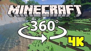 Minecraft [VR] 360° 4K 60 Fps - (Relax)Sonic Ether's Unbelievable Shaders