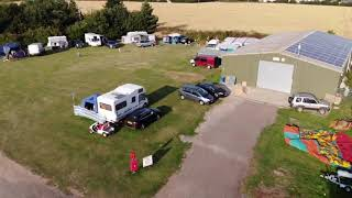 Dave Hemsby tent and touring