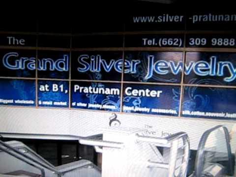 Pratunam bangkok silver jewelry plaza