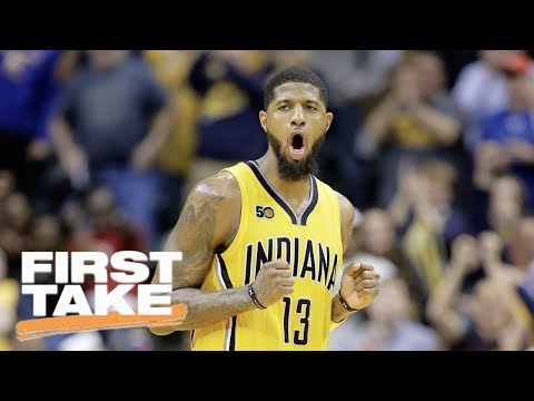 Stephen A. Smith Says Lakers Should Get Paul George Right Now | First Take | June 19, 2017