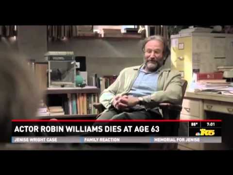 Actor Robin Williams Dead In Suspected Suicide