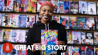 The Comic Book Store Championing Diversity