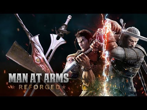Soul Edge & Soul Calibur - Soul Calibur VI - MAN AT ARMS: REFORGED