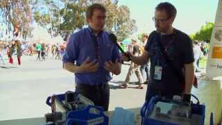 Meet The Shopbot Handibot - It's A Smart Cnc Router - Makerfaire Bay Area 2013