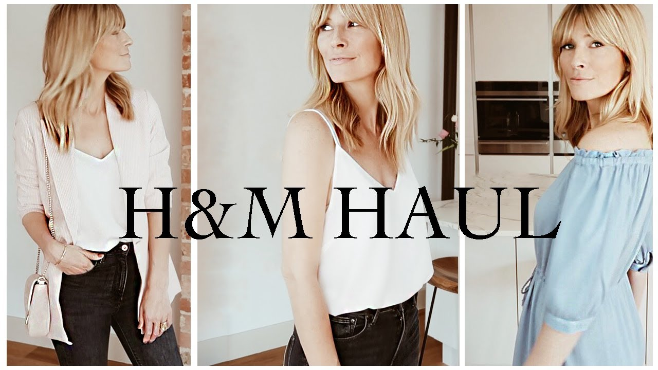H&M HAUL   SPRING SUMMER OUTFIT IDEAS (2019) 2