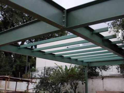 Casa metalica 1 pinheiros sp youtube - Estructura metalicas para casas ...
