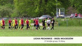 Lechia Piechowice - Orzeł Wojcieszów (skrót spotkania)