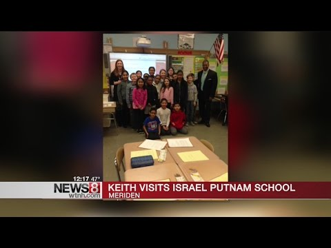 News 8's Keith Kountz visits Israel Putnam School in Meriden