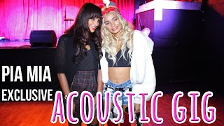 Pia Mia interview!! Pia talks working with Justin Bieber and gives her SnapChat tips!!