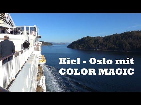 Kiel - Oslo Cruise mit COLOR MAGIC (März 2017)