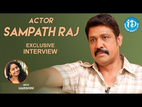 Actor Sampath Raj Exclusive Interview || Talking Movies With iDream #328