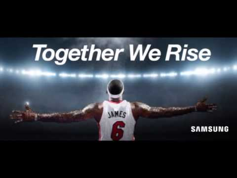 "Samsung Telecommunications America - LeBron ""Together We Rise"" Mosaic"
