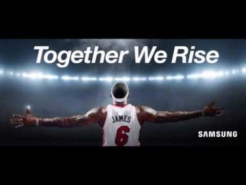 "Samsung Telecommunications America - LeBron ""Together We Rise"" Mosaic"