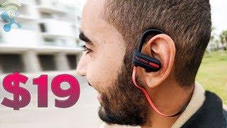 Tsumbay Wireless Sports Earphones Bluetooth Headphones Waterproof : Unboxing & Review