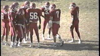 Paulsboro (NJ) Football vs Collingswood October 29,1994. W18-10